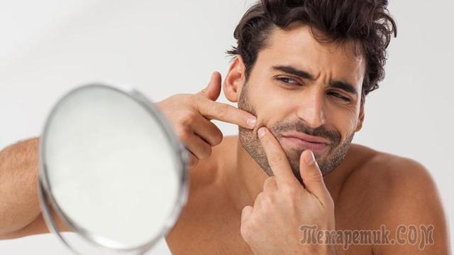 Высыпания на лице: у мужчин, женщин, причины