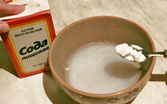 Полоскание содой при зубной боли: содовые ванночки, раствор