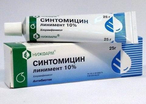 Синтомициновая эмульсия: инструкция по применению, от чего помогает