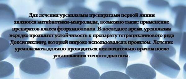 Уреаплазма у женщин симптомы и лечение причины