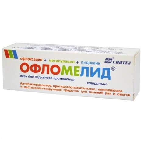 Офлокаин мазь: инструкция по применению, показания