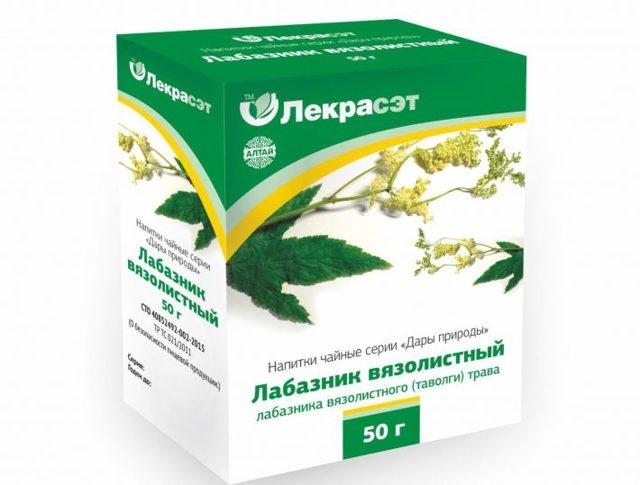 Лабазник: лечебные свойства и противопоказания, Таволга Вязолистная